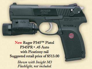 Ruger P345 Pistol