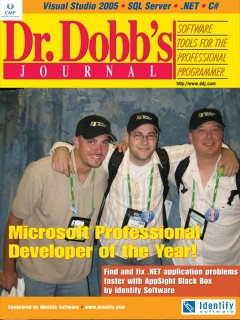 pdc 2005 developers of the year